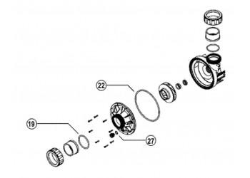 O-gyűrű készlet Escatop, Escawat